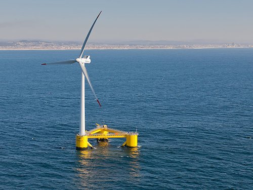 Floating wind turbine