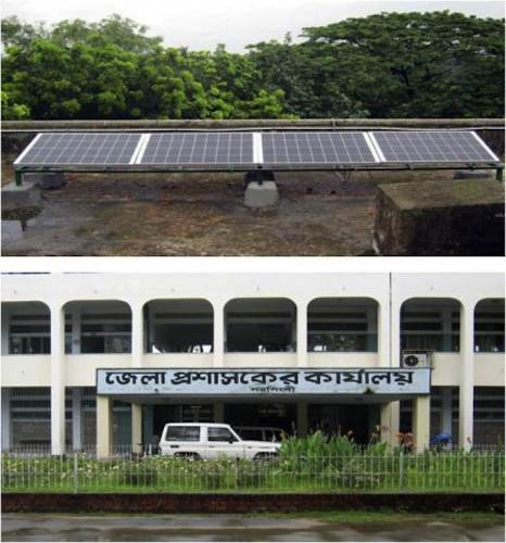 Solar power in Bangladesh