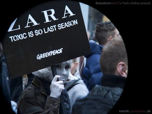 Zara protest