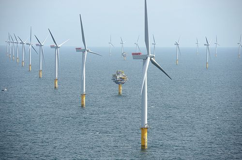 Offshore wind farm - UK