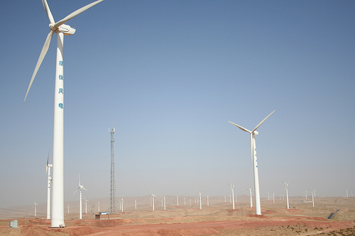Big wind farm in China