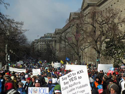 Climate rally – Washington DC
