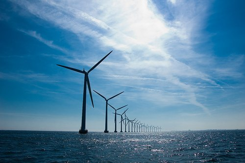Offshore wind farm, Europe