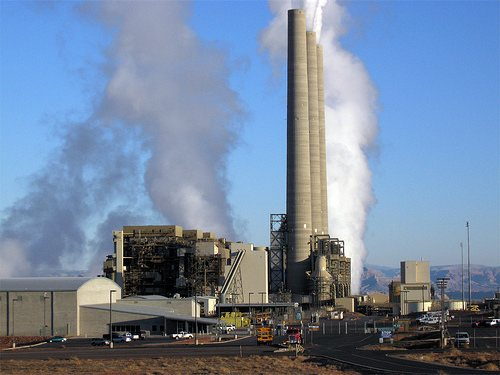 Navajo coal-fired power plant