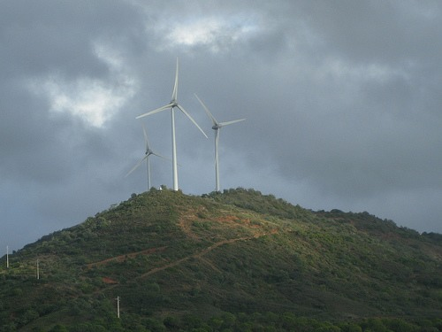 Wind turbines in Portugal