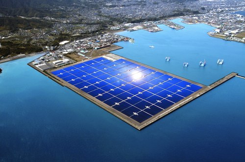 New solar plant being developed in Japan