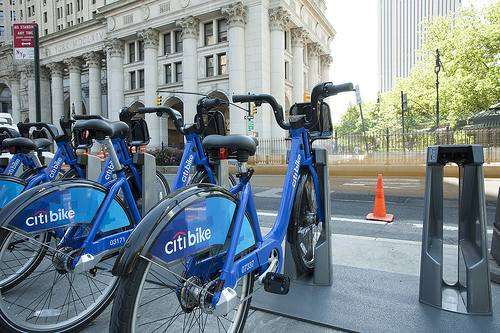 Citibike bike-sharing program New York City