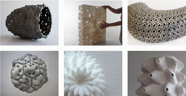 Emerging Objects – materials for 3D printing