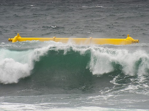 Wave power device