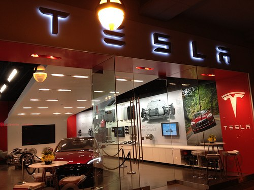 Tesla Motors retail store