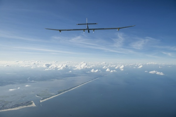 Solar Impulse - final leg to New York