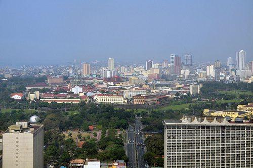 Manila skyline, Philippines