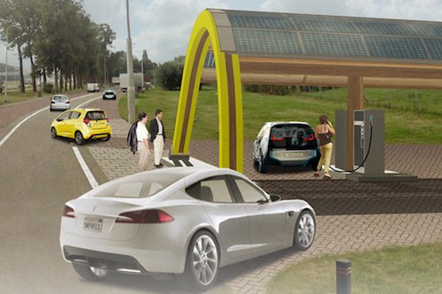 Fastned EV charging network - Netherlands