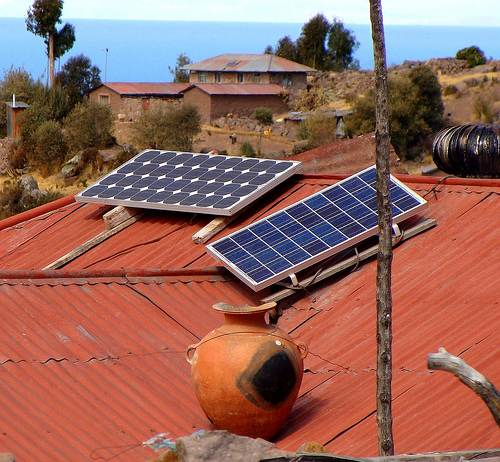 Solar power in Peru
