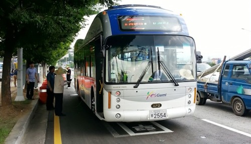 KAIST electric bus