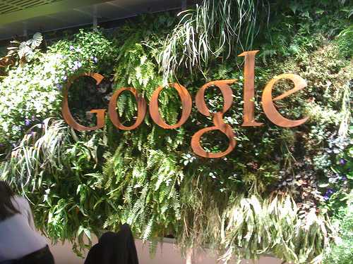 Google living wall