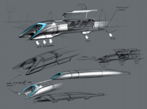 Hyperloop pods