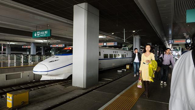 High-speed train china