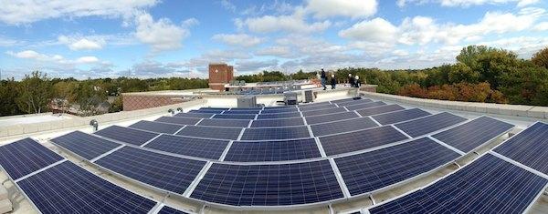 Rooftop solar - Brancroft School