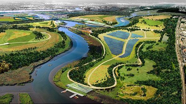 Freshkills solar plant