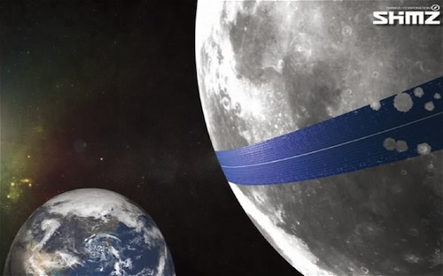 Japanese Engineers Devise Plan To Use The Moon For A Solar