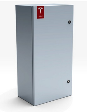 Tesla energy storage unit