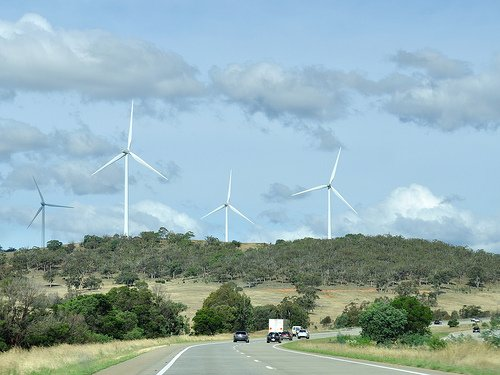 Wind farm in Australia