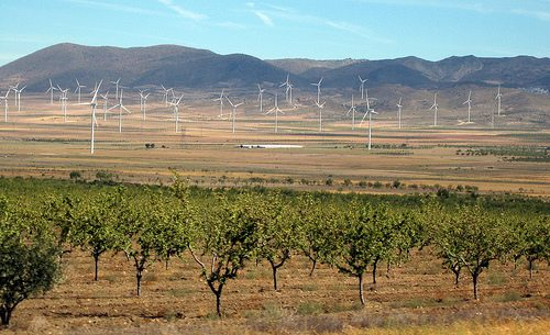 Windfarm in Spain
