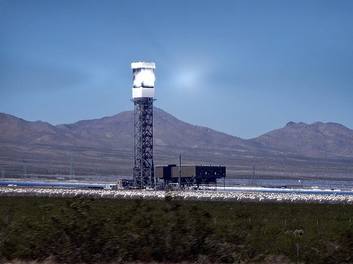 Invanpah solar thermal power station