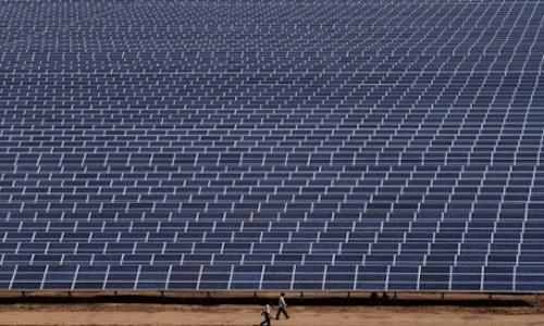 Solar Park, India