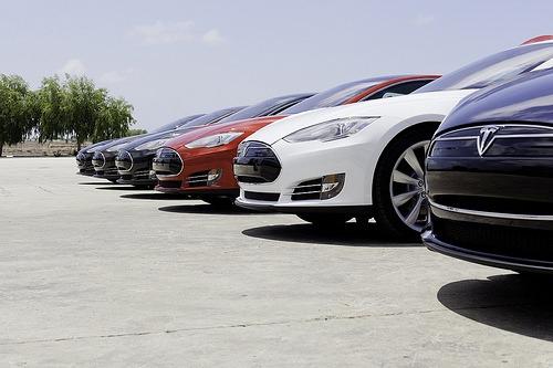 Tesla Model S line0up