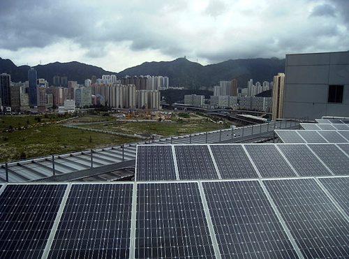 Solar PV in Hong Kong