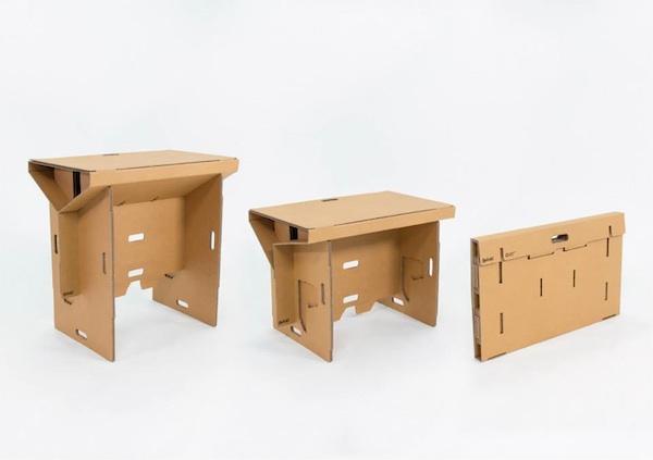 Refold standing desk