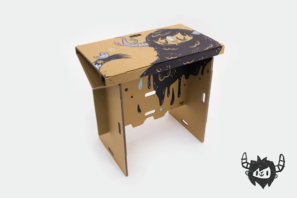 Portable Cardboard Standing Desk