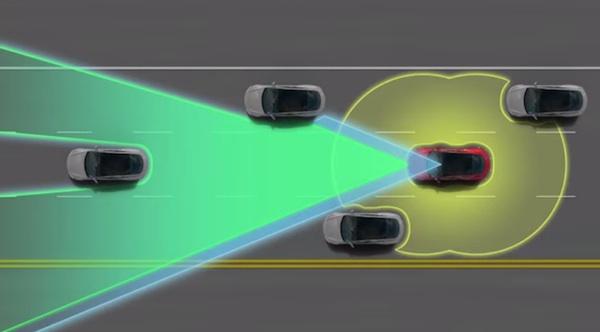 Tesla D autopilot